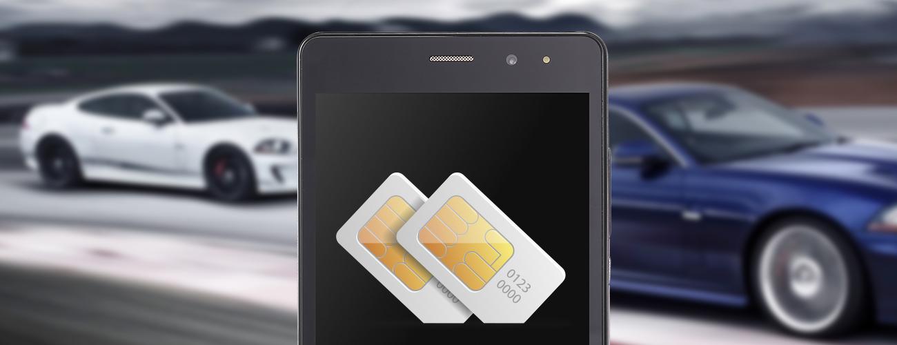 2 сим-карты Nomi i502 Drive