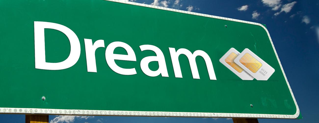 Nomi i504 Dream две сим-карты