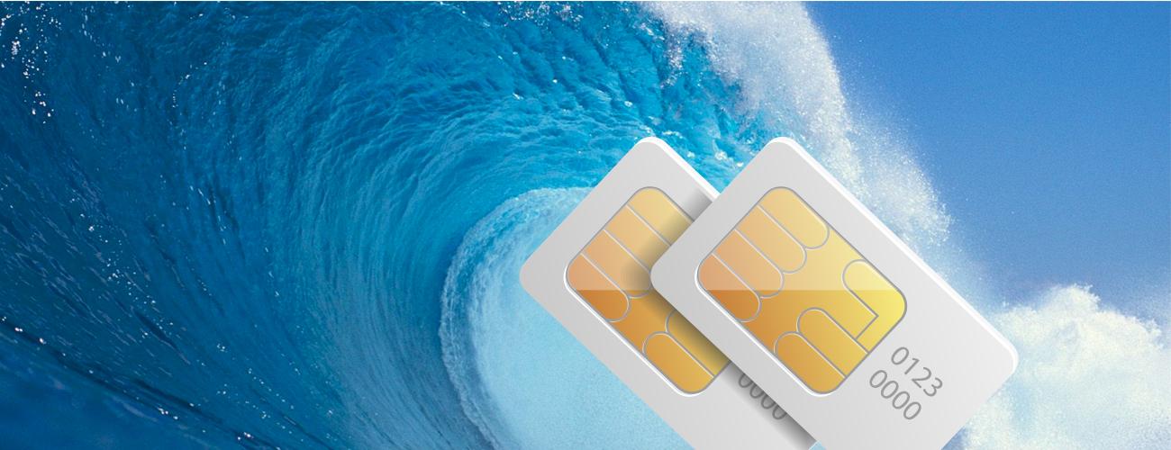 Nomi i551 Wave 2 сим-карты