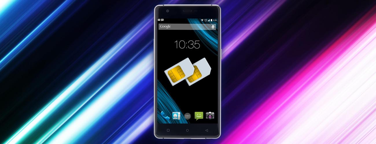Nomi i506 Shine поддержка 2ух SIM-карт