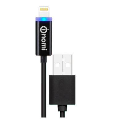 127730-Kabel-Nomi-DCL-10i-USB-Lightning-1m-chornij1