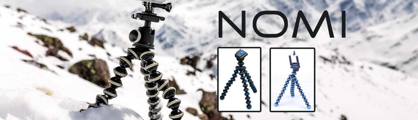 Nomi представляет </br> новые модели триподов