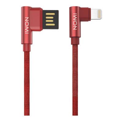 344273-Кабель-Nomi-DCPQ-10i-USB-Lightning-1м-червоний